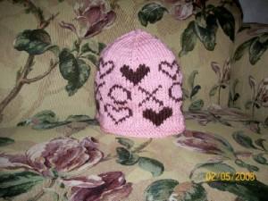Rachel's heart hat